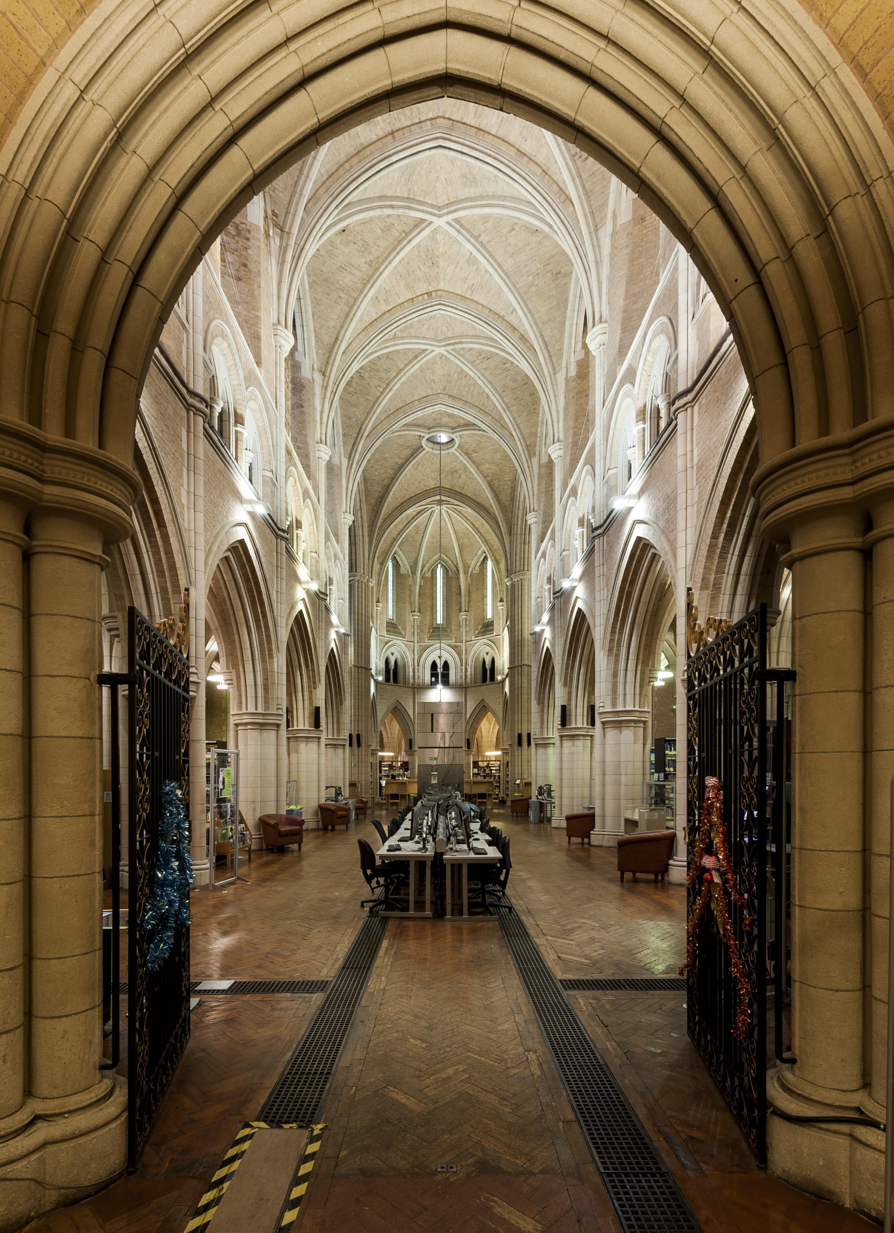 Survey Of London St Philip S Church Library And The
